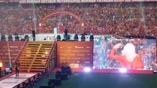 #Şampiyon #Galatasaray - Aleyna Tilki O Sen Olsan Bari, Cevapsız Çınlama - Vip Numaralı Tribün Vlog