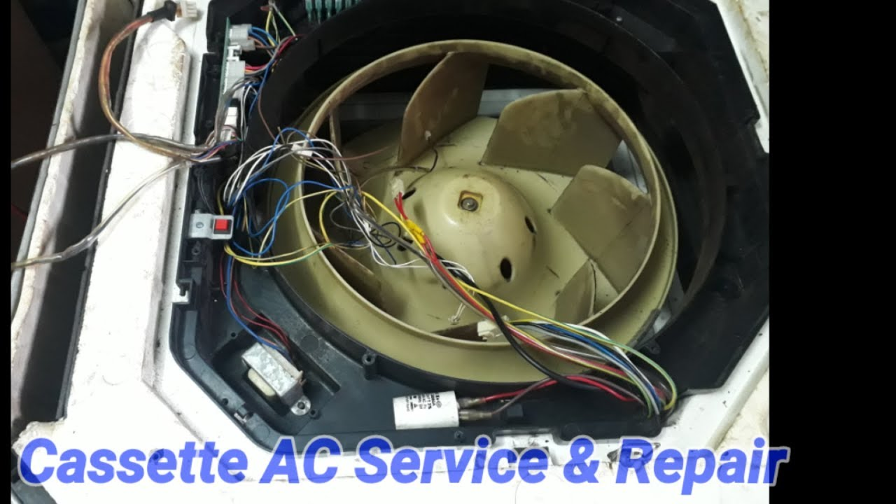 carrier cassette ac service and repair , drain pump check