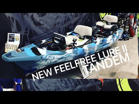 NEW: FeelFree Lure 2 Tandem Kayak with Optional Pedal/Motor System!