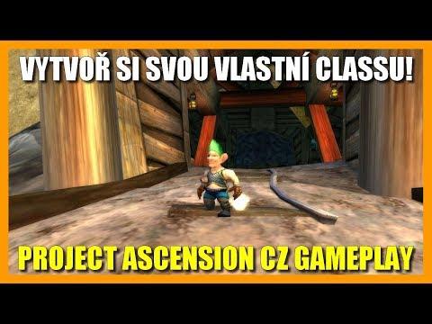 Vytvoř si svou vlastní Classu! Project Ascension CZ Gameplay