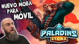 NUEVO MOBA PARA MVIL  Paladins Strike Gameplay  Black Ursus