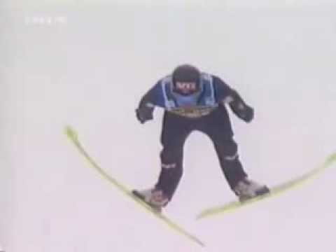 Bjorn Einar Romoren Wcsf Planica 2004 Training Fall Youtube