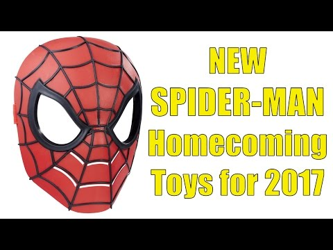 NEW SPIDER-MAN Homecoming Toys for 2017, Spiderman with Wings And Much More!