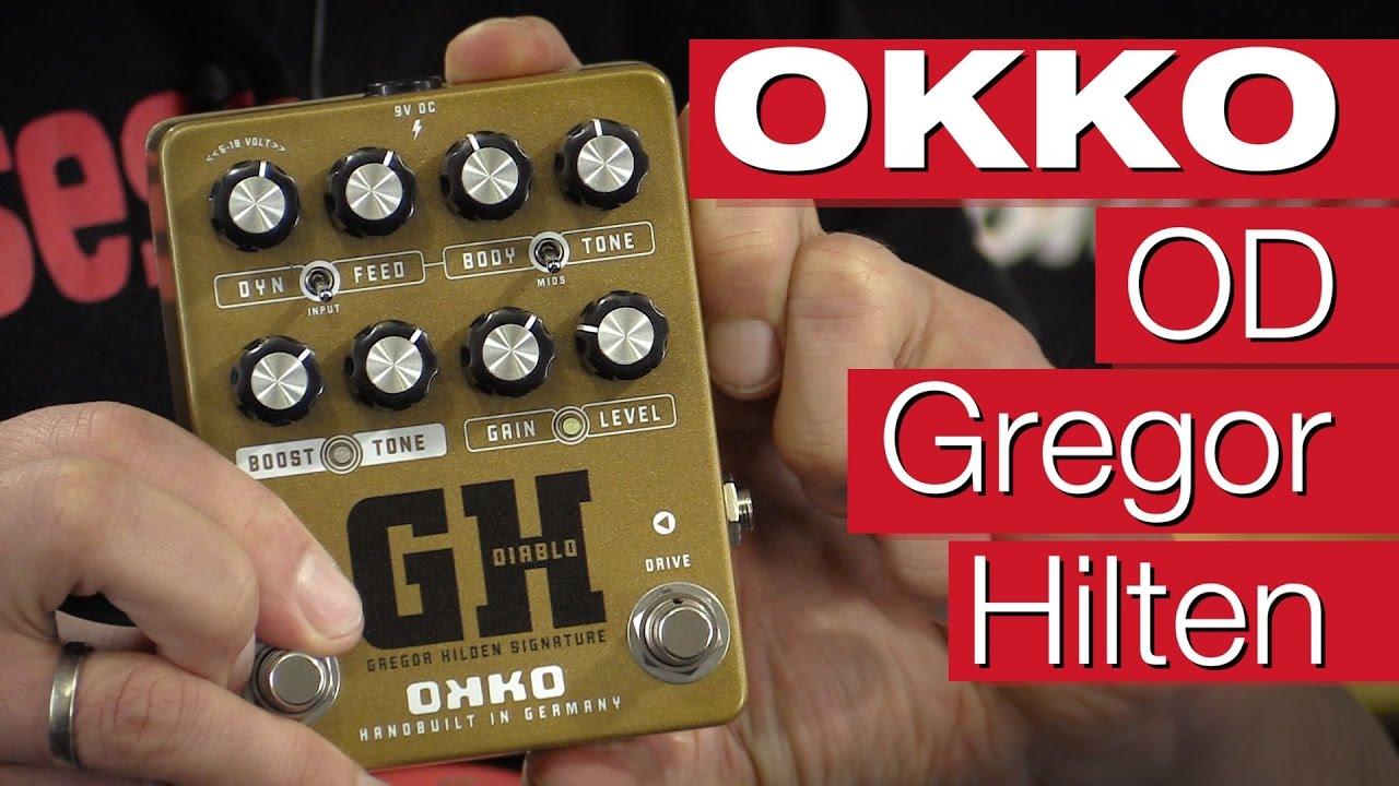 Okko Diablo GH Gregor Hilden Booster- & Overdrive-Pedal-Review von ...