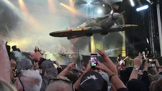 Iron Maiden - Intro & Aces High - Live at Sweden Rock Festival 2018-06-07