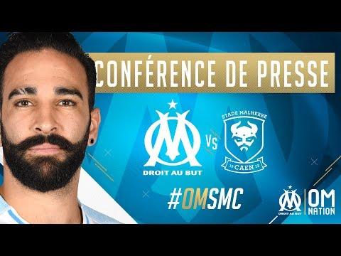 La conférence de presse d'Adil Rami et Rudi Garcia #OMSMC