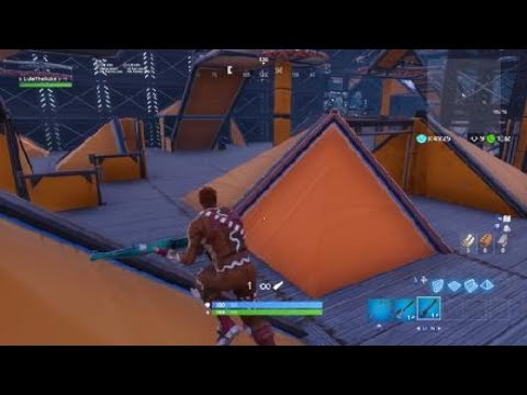 Fortnite Frantic FFA With Little Brother (No-Scopes!!!)