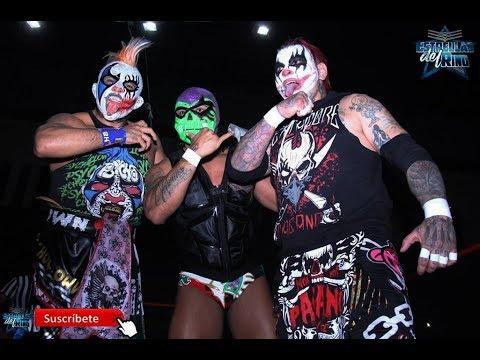 Pycho Clown, Pagano e Hijo del Fantasma vs Joe Líder, Mr. Águila y Texano Jr