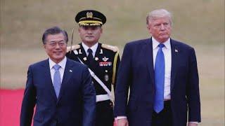Trump meets with S. Korean president amid N. Korea summit uncertainty