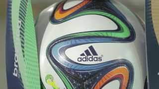 Adidas Brazuca FIFA World Cup Official Ball - Production Video