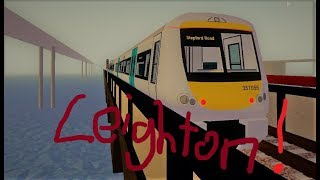Stepford county railway roblox: Least used station in Leighton ep4