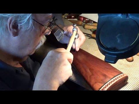How To Stipple A Gunstock - Kurt's Checkering ~ Rex Reviews