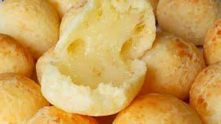 Pão de Queijo Simples e Rápido