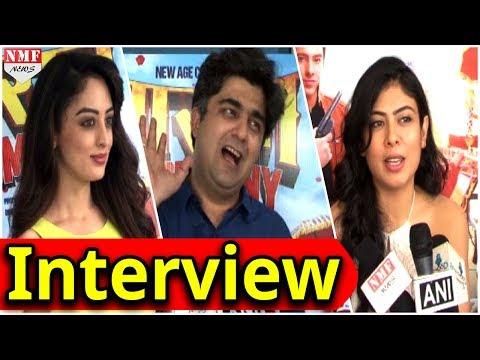 Interview With Star Cast Of Film Baarat Company   Sandeepa Dhar   Anurita Jha