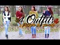 Combina 4 Outfits Casuales Con 2 Jeans Para Thanksgiving🍁🌽 BeautyByPriscila