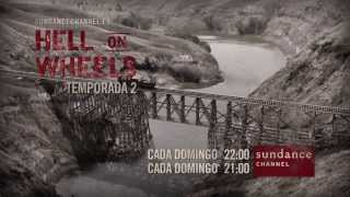 Hell on Wheels - Temporada 2 (tráiler)