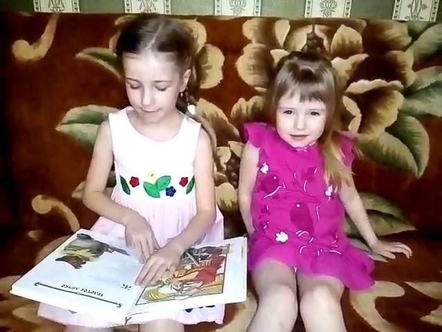 Изображение предпросмотра прочтения – ЛюбовьДолгих читает произведение «Сказка Курочка Ряба» (Русский фольклор )