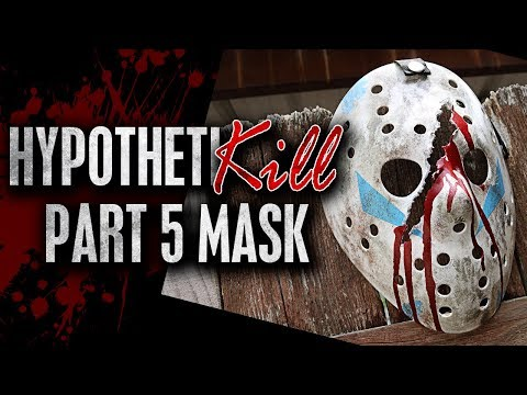 "How to Make a Friday the 13th Part 5 ""HypothetiKILL"" Mask - DIY"
