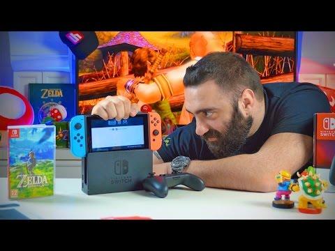 Ξεπουπουλιάζουμε το Nintendo Switch! | Unboxholics