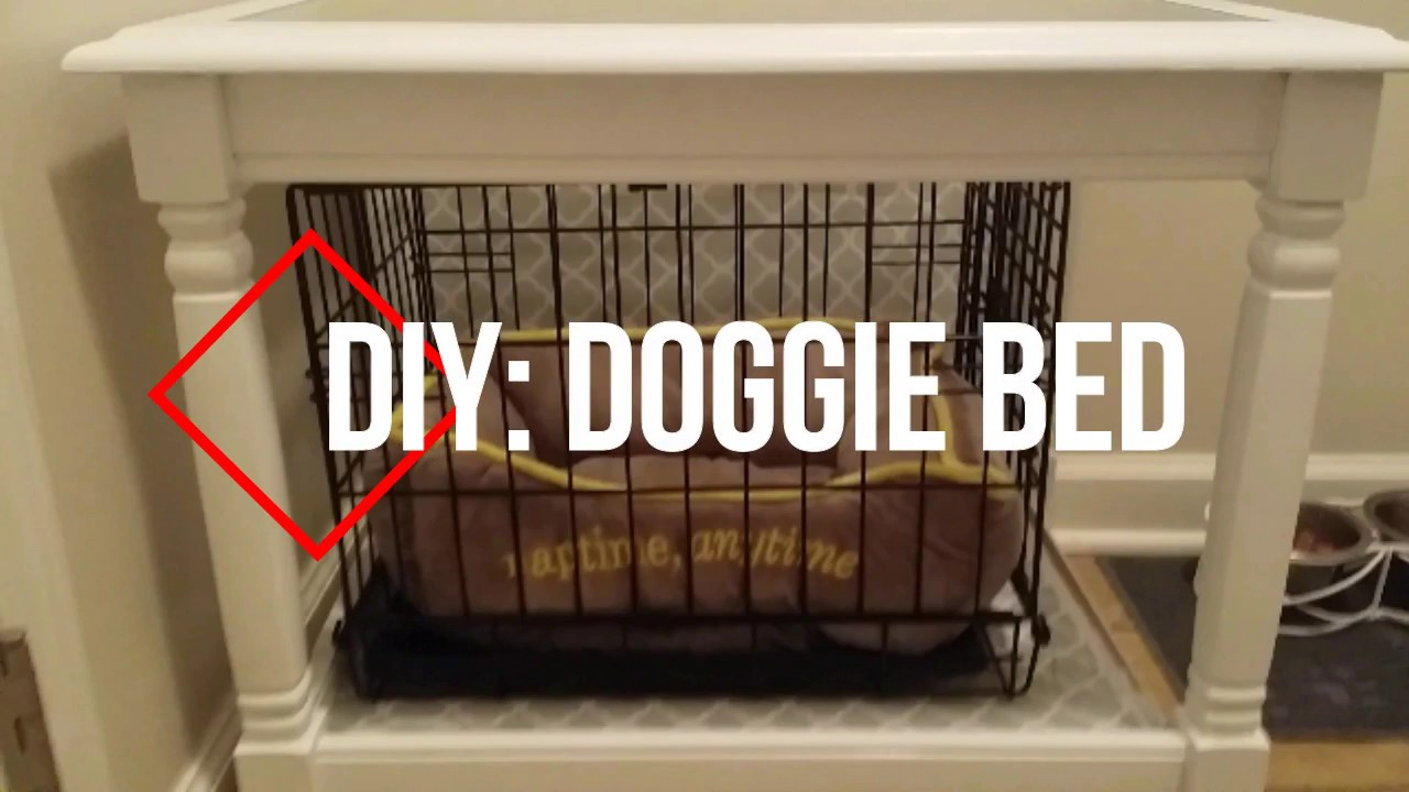 Diy Doggie Bed Cover Re Purpose Funiture