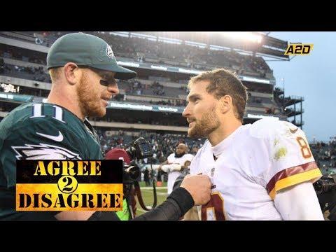 Eagles Vs Redskins MNF Preview | Agree 2 Disagree