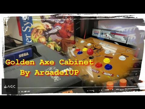 Arcade Games - Arcade1UP Golden Axe Cabinet from AGC Retrogaming
