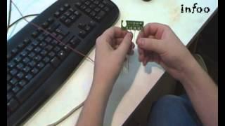 Обнуление чипа картрижда Samsung SCX 4200(Всем привет! В этом видео мы расскажем и покажем, как с помощью самодельного программатора перепрошить..., 2013-07-17T12:24:44.000Z)