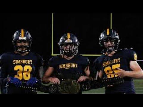 Simsbury High School Football vs. Conard 2019