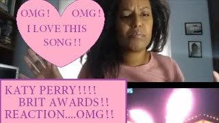Katy Perry - Chained To The Rythm - BRIT AWARDS 2017 REACTION! 💕 sub ITA