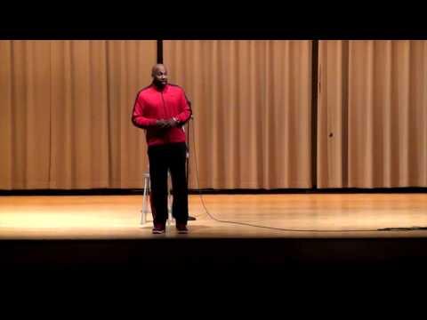 Michael Morrison Visits Pikeville High School
