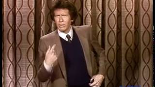 Garry Shandling talks about going out to eat on his first appearance on The Tonight Show 03/18/1981