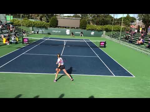 Eugenie Bouchard / Kayla Day - Newport Beach, CA (4k 60fps)