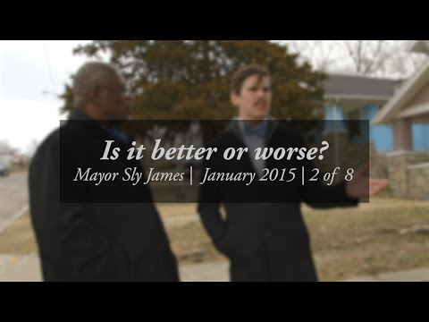 Is it better or worse? -- Walk and talk with Mayor Sly James, #2/8