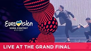 Hovig - Gravity (Cyprus) LIVE at the Grand Final of the 2017 Eurovision Song Contest