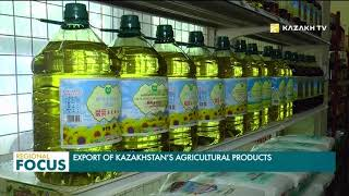 Trade turnover between Kazakhstan and China totaled $345 million in 2017