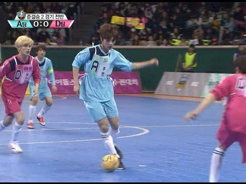 【TVPP】Luhan(EXO) - Futsal Semifinal Luhan Goal!, 루한(엑소) - 풋살 루한 골! @ 2014 Idol Star Championships