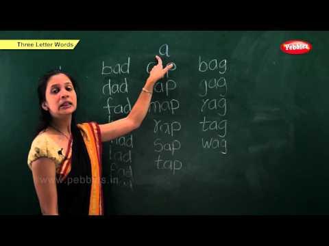 Phonics Chapter 3  Three Letter Words  Learn Phonics For Kids  Phonics Classroom Teaching