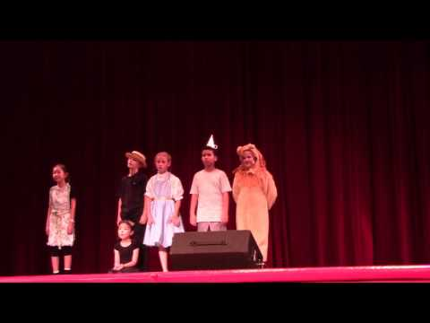 "Peyton's first musical, ""Oz"" with Village Christian Schools Summer Camp - Scene 4"