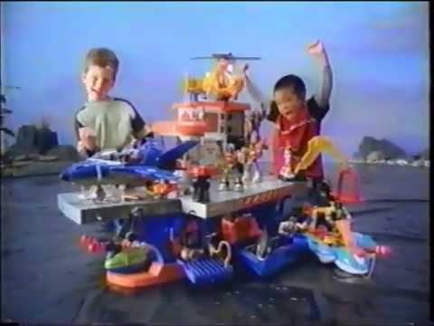 Rescue Heroes Aquatic Rescue Command Center Commercial (2002)