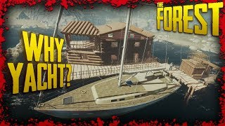 How to Build at Sea the CHEAPEST Way Possible | The Forest