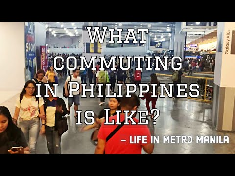 Ep 12: What Commuting In Manila Is Like - Life in the Philippines 2019