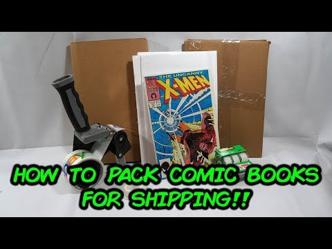 PSA! Do's and Don'ts To Packing Your Comic Books For Shipping.