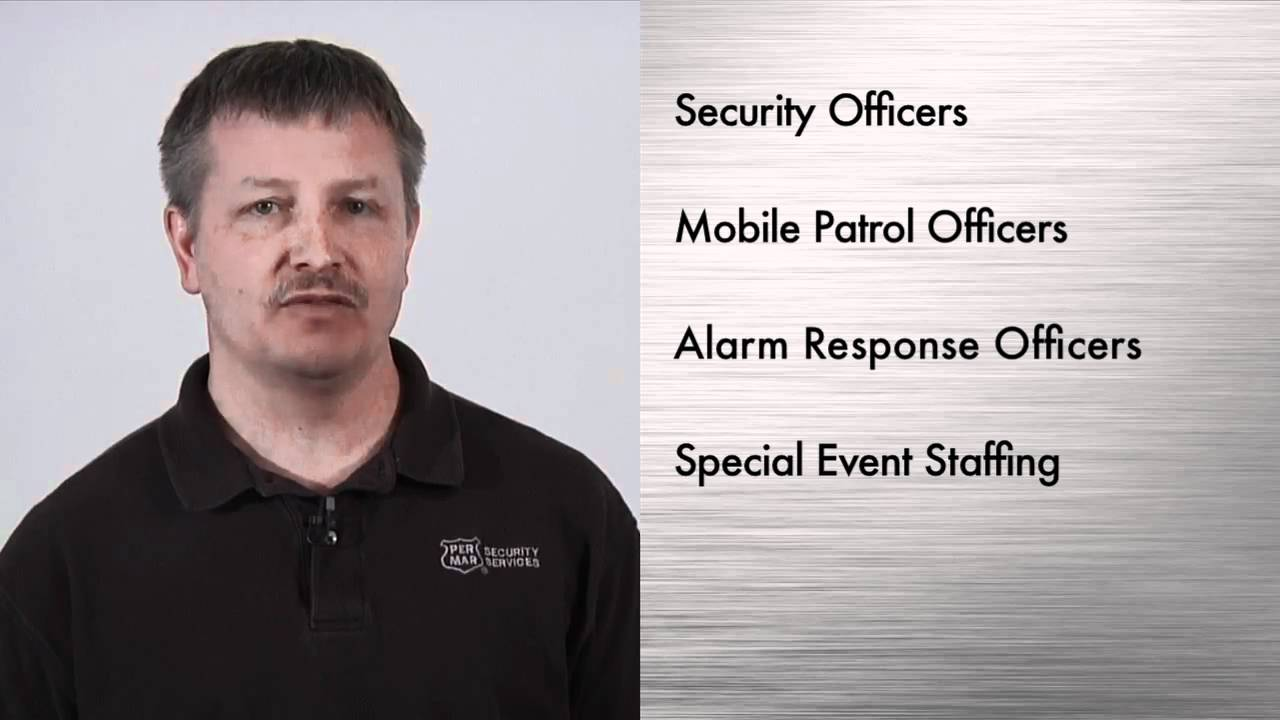 Per Mar Security Services Overview Youtube