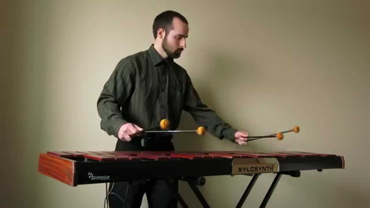 Gymnopédie No  1 for Solo Vibraphone | Eric Peel Music