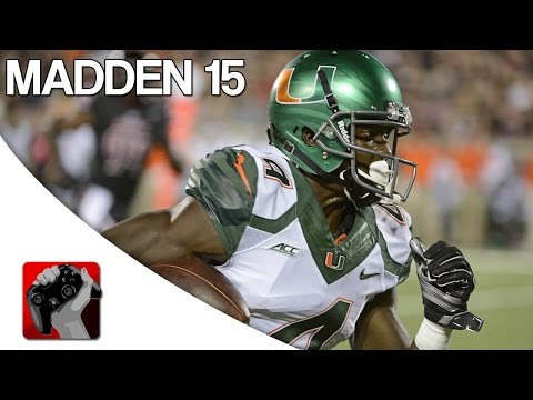 Madden NFL 15: How to Create Phillip Dorsett