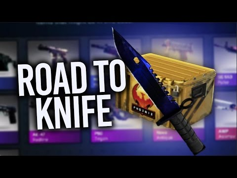 CRAZIEST KNIFE UNBOXING TIME!? ROAD TO KNIFE  (Counter-Strike Global Offensive)