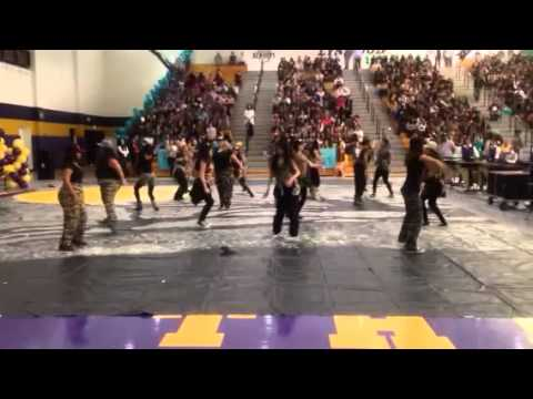 Lynwood high school dance team