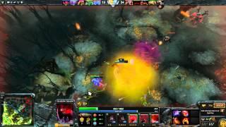 Dota 2: Пексик играет за Шадоу Демона (Shadow Demon), бой 2 из 2 - loss