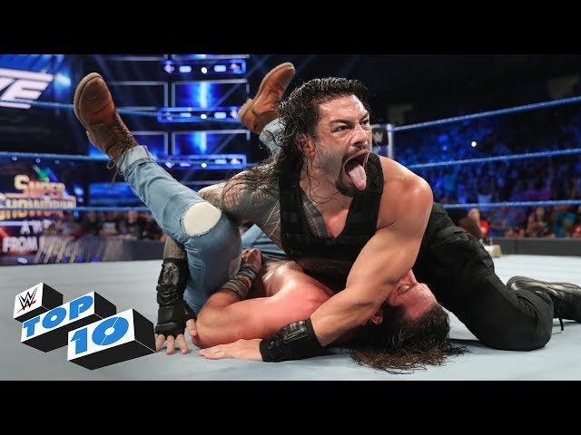 Top 10 SmackDown LIVE moments: WWE Top 10, May 28, 2019