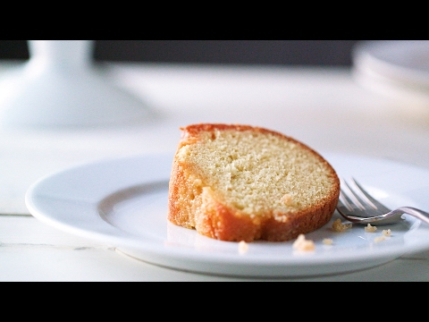 Brown Butter Cake with Kentucky Bourbon- Everyday Food with Sarah Carey